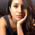Meghan Markle, compagne du prince Harry, selfie lors de la saison 6 de Suits en 2016. Photo Instagram.