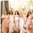 """""""Meghan Markle, compagne du prince Harry, demoiselle d'honneur au mariage de son ami Lindsay à l'été 2016. Photo Instagram."""""""