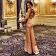 Meghan Markle, compagne du prince Harry, demoiselle d'honneur au mariage de son ami Lindsay à l'été 2016. Photo Instagram.