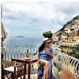 Meghan Markle, compagne du prince Harry, en séjour à Positano fin 2016. Photo Instagram.