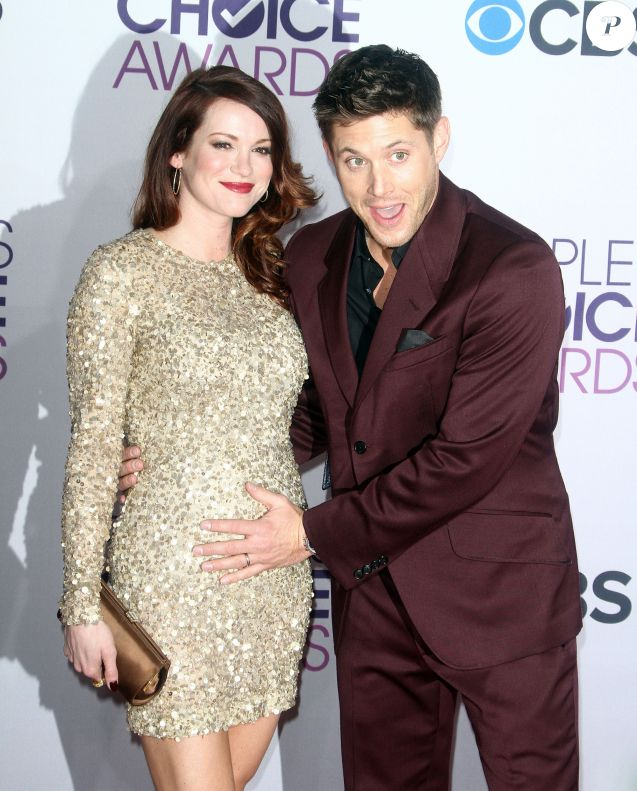 Jensen Ackles, Daneel Harris à la Soiree des 'People Choice Awards' a Los Angeles le 9 janvier 2013.
