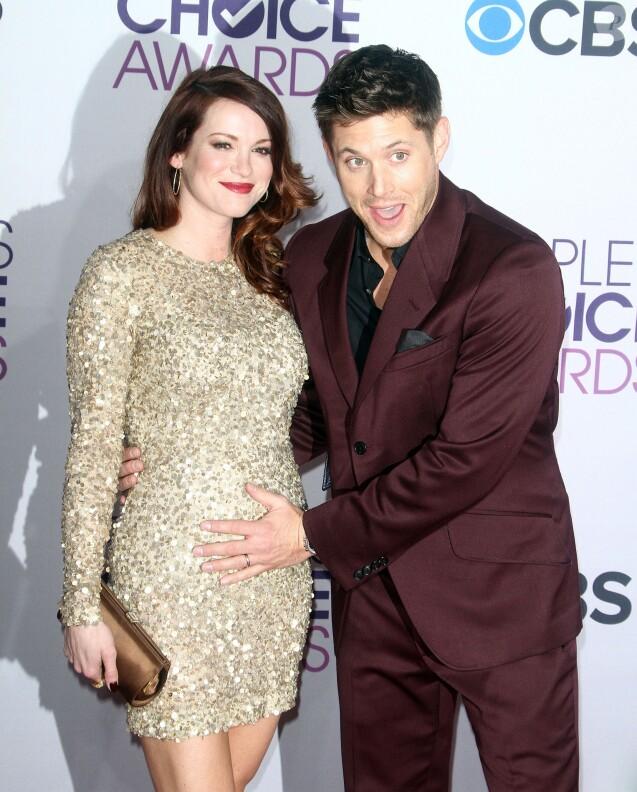 Jensen Ackles, Daneel Harris à la Soiree des 'People Choice Awards' a Los Angeles le 9 janvier 2013.