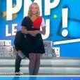 """Enora Malagré joue l'hôtesse de l'air - """"TPMP"""", jeudi 12 janvier 2017, C8"""