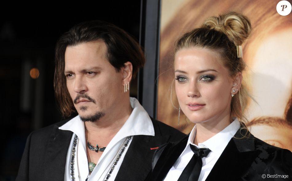 """Archive - Johnny Depp et Amber Heard à la première de """"The Danish Girl"""" à Los Angeles en novembre 2015"""