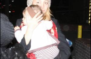PHOTOS : Nicole Richie, c'est une heure pour sortir ta petite fille ?