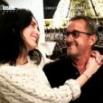 Christophe Dechavanne parle de ses enfants sur TF1 dans 50 Minutes Inside le 14 janvier 2017 (capture d'écran)