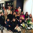 Geri Halliwell lors de sa baby-shower avec Emma Bunton, Sally Wood et toutes ses copines. Photo publiée sur Instagram le 14 janvier 2017
