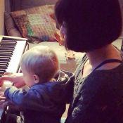 Natasha St-Pier : La jeune maman, absente des Enfoirés, profite de Bixente