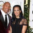 Dwayne Johnson et sa fille Simone Alexandra Johnson - La 73e cérémonie annuelle des Golden Globe Awards à Beverly Hills, le 10 janvier 2016.