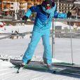 """Exclusif - Gilles Verdez - Les chroniqueurs de """"Touche pas à mon poste"""" tournent """"TPMP fait du ski"""" à Montgenèvre dans les Hautes-Alpes le 17 décembre 2016. Le tournage s'est déroulé du 16 au 19 décembre 2016. © Dominique Jacovides / Bestimage"""