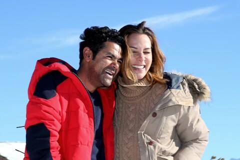 Jamel Debbouze et Melissa Theuriau : Amoureux et complices dans la neige