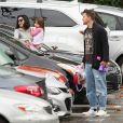 Exclusif - Channing Tatum et sa femme Jenna Dewan en compagnie de leur fille Everly à Los Angeles, le 10 janvier 2017.