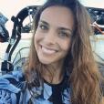 Marine Lorphelin pour son dernier jour à Nouméa, avant de rentrer en métroploe. Photo postée sur Instagram en janvier 2017.