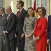Felipe et Letizia d'Espagne : Enfin réunis avec Juan Carlos et Sofia !