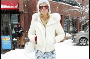 PHOTOS : Paris Hilton est aussi à Aspen avec sa nouvelle meilleure amie, sa soeur mais sans... sa Bentley rose !
