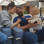 Nikola Karabatic : Adorable papa poule avec Alek, avant une nouvelle victoire