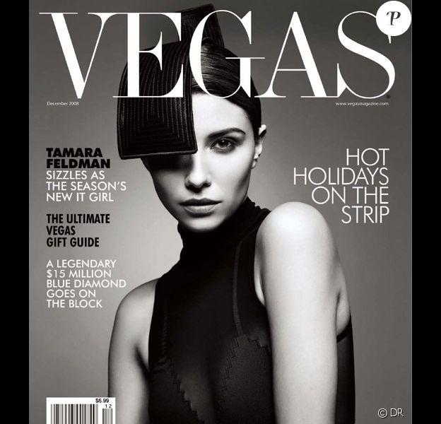 Tamara Feldman pose pour Vegas