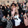 L'équipe de Orange is the New Black - Photocall de la 23e soirée annuelle Screen Actors Guild awards au Shrine auditorium à Los Angeles, le 29 janvier 2017 © Chris Delmas/Bestimage