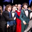 Gaten Matarazzo, Noah Schnapp, Millie Bobby Brown, Finn Wolfhard et Caleb McLaughlin à la 23ème soirée annuelle Screen Actors Guild Awards au Shrine Expo Hall à Los Angeles, le 29 janvier 2017 © Watchara Phomicinda/Los Angeles Daily News via Zuma/Bestimage29/01/2017 - Los Angeles