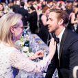 Meryl Steep, Ryan Gosling à la 23ème soirée annuelle Screen Actors Guild Awards au Shrine Expo Hall à Los Angeles, le 29 janvier 2017 © Watchara Phomicinda/Los Angeles Daily News via Zuma/Bestimage29/01/2017 - Los Angeles