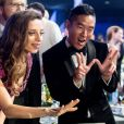 Angela Sarafyan et Leonardo Nam à la 23ème soirée annuelle Screen Actors Guild Awards au Shrine Expo Hall à Los Angeles, le 29 janvier 2017 © Watchara Phomicinda/Los Angeles Daily News via Zuma/Bestimage29/01/2017 - Los Angeles