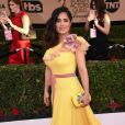 Salma Hayek - Tapis rouge de la 23e soirée annuelle Screen Actors Guild awards au Shrine auditorium à Los Angeles, le 29 janvier 2017 @ Chris Delmas/Bestimage