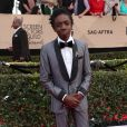 Caleb McLaughlin - Tapis rouge de la 23ème soirée annuelle Screen Actors Guild awards au Shrine auditorium à Los Angeles, le 29 janvier 2017 © F. Sadou/AdMedia via Zuma/Bestimage