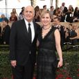 Jeffrey Tambor et sa femme Kasia Ostlun - Tapis rouge de la 23ème soirée annuelle Screen Actors Guild awards au Shrine auditorium à Los Angeles, le 29 janvier 2017 © F. Sadou/AdMedia via Zuma/Bestimage