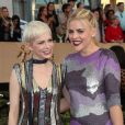 Michelle Williams, Busy Philipps - Tapis rouge de la 23ème soirée annuelle Screen Actors Guild awards au Shrine auditorium à Los Angeles, le 29 janvier 2017 © F. Sadou/AdMedia via Zuma/Bestimage