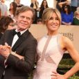 William H. Macy et sa femme Felicity Huffman - Tapis rouge de la 23ème soirée annuelle Screen Actors Guild awards au Shrine auditorium à Los Angeles, le 29 janvier 2017 © F. Sadou/AdMedia via Zuma/Bestimage