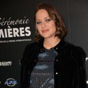 Marion Cotillard enceinte : Sublime perdante face à Isabelle Huppert