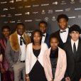 """L'équipe du film """"Swagger"""" - Photocall lors de la 22ème cérémonie des Lumières de la presse internationale au Théâtre de la Madeleine à Paris, le 30 janvier 2017. © Veeren/Bestimage"""