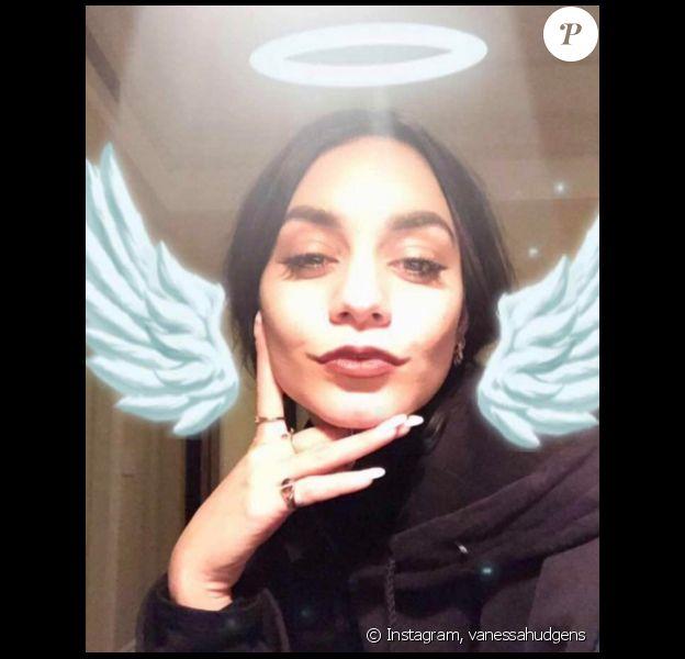 Vanessa Hudgens rend hommage à son père un an après son décès. photo publiée sur Instagram le 30 janvier 2017