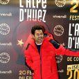 """Jamel Debbouze - Soirée spéciale """"Jamel Comedy Club"""" dans le cadre du 20ème festival de Comédie à l'Alpe d'Huez, le 18 Janvier 2017."""