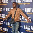 """Black M (Black Mesrimes) à l'Avant-première du film """"Amis Publics"""" au cinéma UGC Normandie à Paris, le 1er février 2016. © Veeren/Bestimage"""