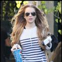 PHOTOS : La jolie Lindsay Lohan, simple et décontractée, a un look d'enfer !
