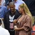 Beyoncé et Jay Z à l'US Open 2016 au USTA Billie Jean King National Tennis Center. New York, le 1er septembre 2016.