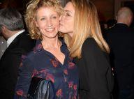 Alexandra Lamy et Julie Gayet : Bisous complices devant Virginie Efira