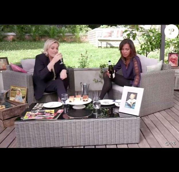 """Karine Le Marchand et Marine Le Pen - """"Une ambition intime"""", M6, 9 octobre 2016"""