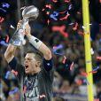 Tom Brady triomphantlors de la finale du Super Bowl au NRG Stadium, Houston TX, le 5 février 2017.