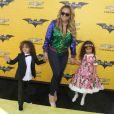 Mariah Carey et ses enfants Moroccan et Monroe à la première de ''The LEGO Batman Movie' au théâtre Regency Village à Westwood, le 4 février 2017