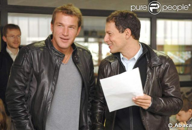 Benjamin Castaldi et Marc-Olivier Fogiel