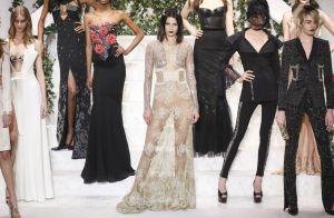 Fashion Week : Kendall Jenner, craquante au défilé La Perla, avec Naomi Campbell