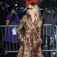 """Sarah Jessica Parker-Défilé """"Calvin Klein"""", collections prêt-à-porter et homme automne 2017, à la Fashion Week de New York. Le 10 février 2017."""