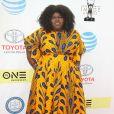 Gabourey Sidibe- 48e NAACP Image Awards au Pasadena Civic Auditorium à Pasadena, le 11 février 2017.