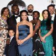 """Le cast de la série """"Queen Sugar""""- 48e NAACP Image Awards au Pasadena Civic Auditorium à Pasadena, le 11 février 2017."""