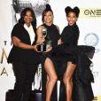 Octavia Spencer, Taraji P. Henson et Janelle Monae (Les figures de l'ombre)- 48e NAACP Image Awards au Pasadena Civic Auditorium à Pasadena, le 11 février 2017.