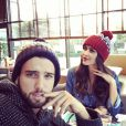 Leila, toujours folle amoureuse d'Aymeric. Novembre 2014.