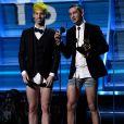 Twenty One Pilots lors de la 59e édition des Grammy Awards au Staples Center de Los Angeles, le 12 février 2017