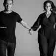 Prabal Gurung et Ashley Graham - Campagne publicitaire de la collection Prabal Gurung x Lane Bryant.